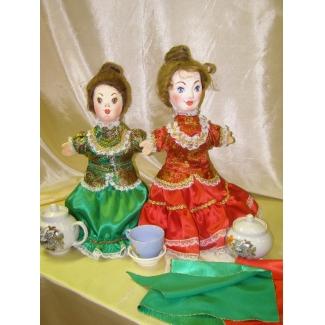 Кукла перчаточная Купчиха