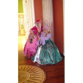 Платья исторические