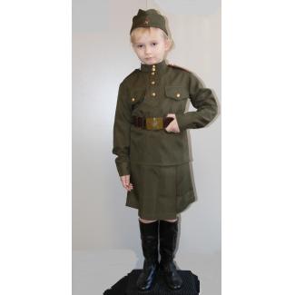Военный костюм для девочки