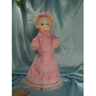 Кукла перчаточная Свинья