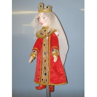 Кукла перчаточная Царица