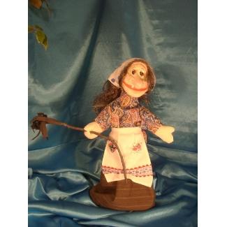 Кукла перчаточная  Баба Яга добрая